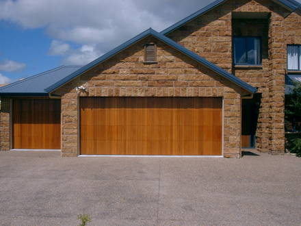 Cedar Sectional Doors